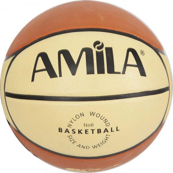 BASKETBALL AMILA #6 RUBBER SPONGE