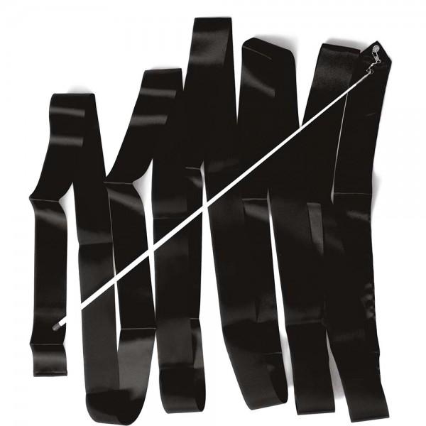 RIBBON - RHYTHMIC GYMNASTIC 6m, BLACK