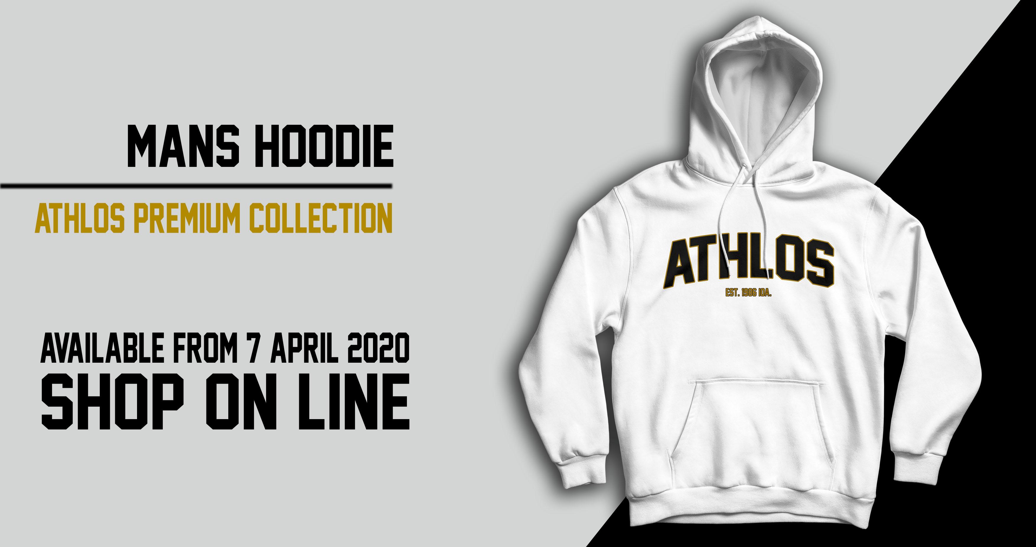 athlos hoodie man